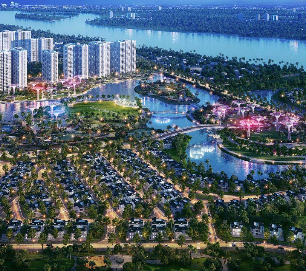 Tổng thể Dự án Vinhomes Grand Park