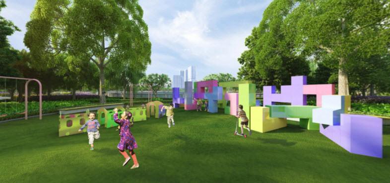 Tiện ích xanh tại Dự án Vincity Quận 9