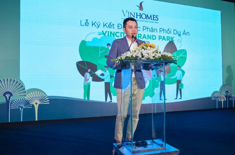 ông Nguyễn Đức Quang – Phó TGĐ phụ trách Kinh doanh khu vực phía Nam
