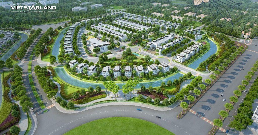 Quy hoạch tổng thể Nhà Phố Vinhomes Quận 9