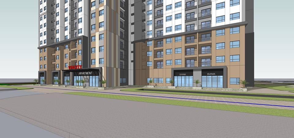 Mặt bằng căn hộ Vincity Quận 9 dự kiến