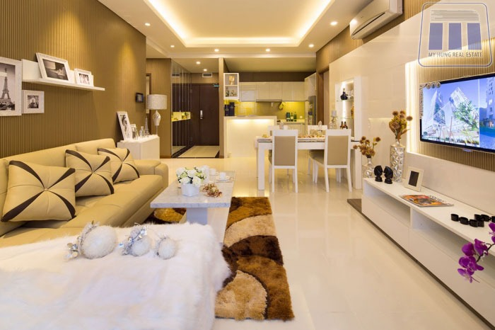 Thiết kế căn 3 phòng ngủ Vincity Quận 9