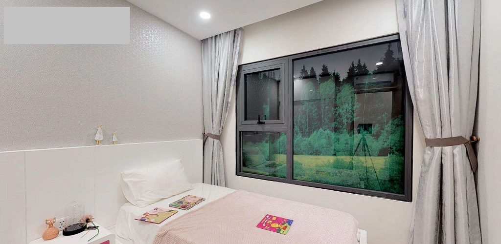 Tổng thể căn hộ 1 Phòng ngủ Vinhomes Grand Park Quận 9