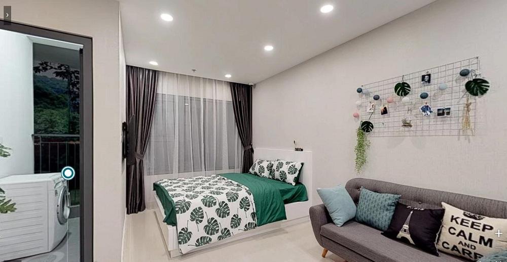 Thiết kế căn hộ 1 phòng ngủ Vinhomes Quận 9