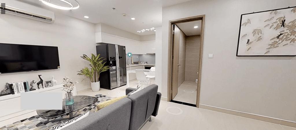 Thiết kế căn hộ 2 Phòng Ngủ Vinhomes Quận 9