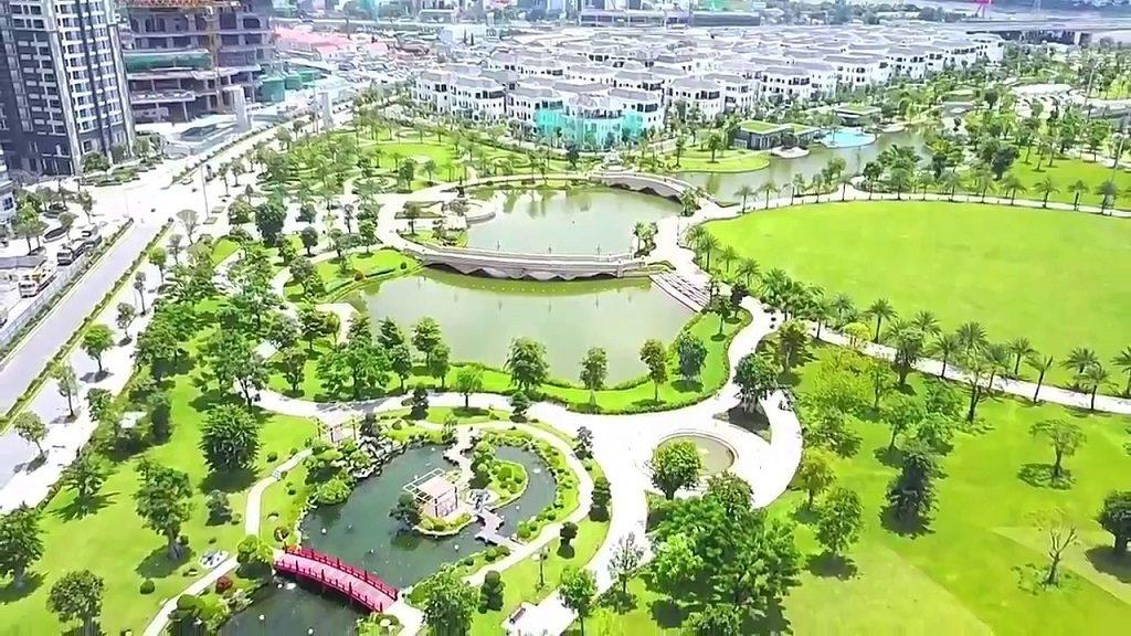 Mô phỏng tiện ích công viên tại Vincity Quận 9