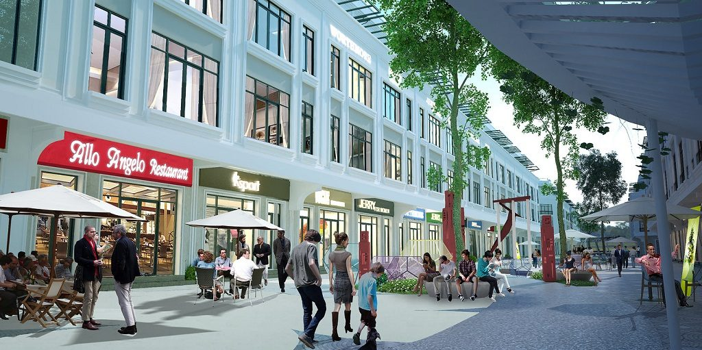 Nhà phố thương mại Shophouse Vinhomes Grand Park Quận 9