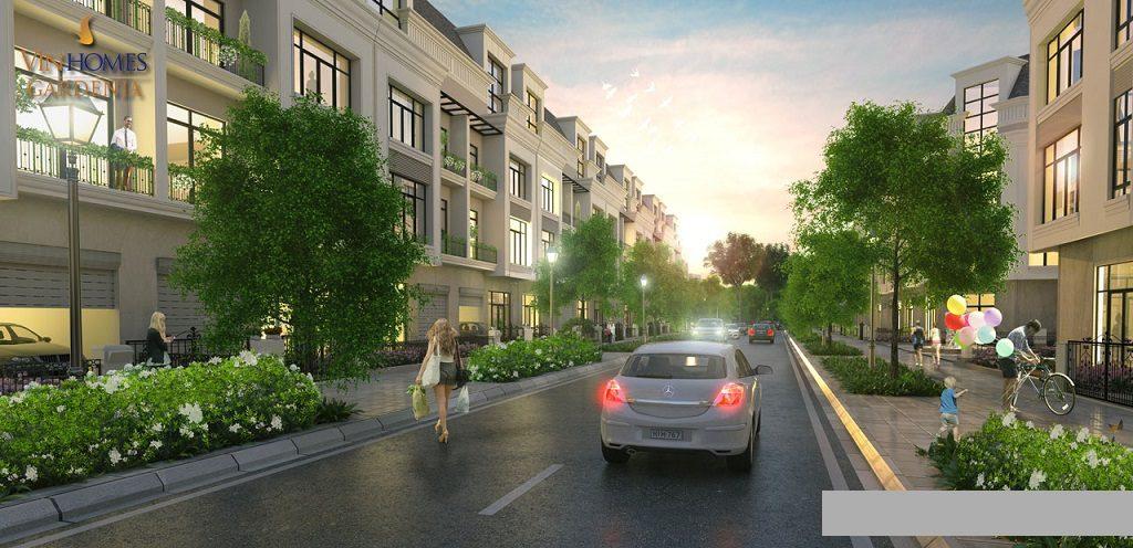 Nhà phố liền kề Vinhomes Grand Park Quận 9