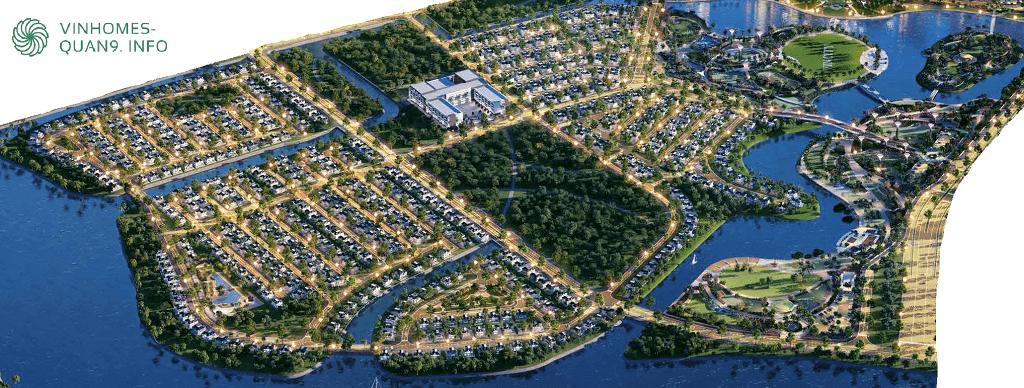 Mặt bằng tổng thể Nhà phố Vinhomes Grand Park Quận 9