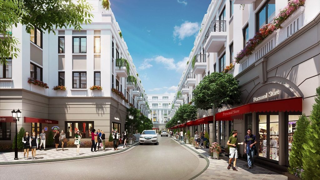 Quy hoạch Nhà phố Vinhomes Quận 9