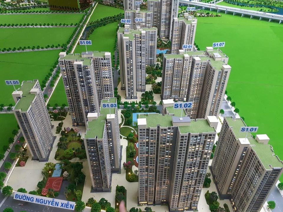 Sa bàn mô hình Dự án Vinhomes Grand Park Quận 9