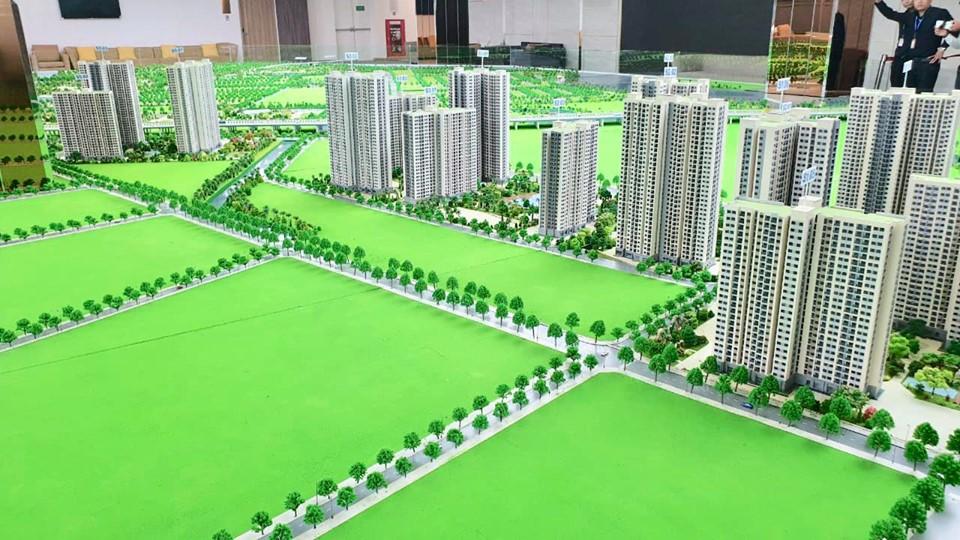 Sa bàn mô hình Vinhomes Grand Park Quận 9