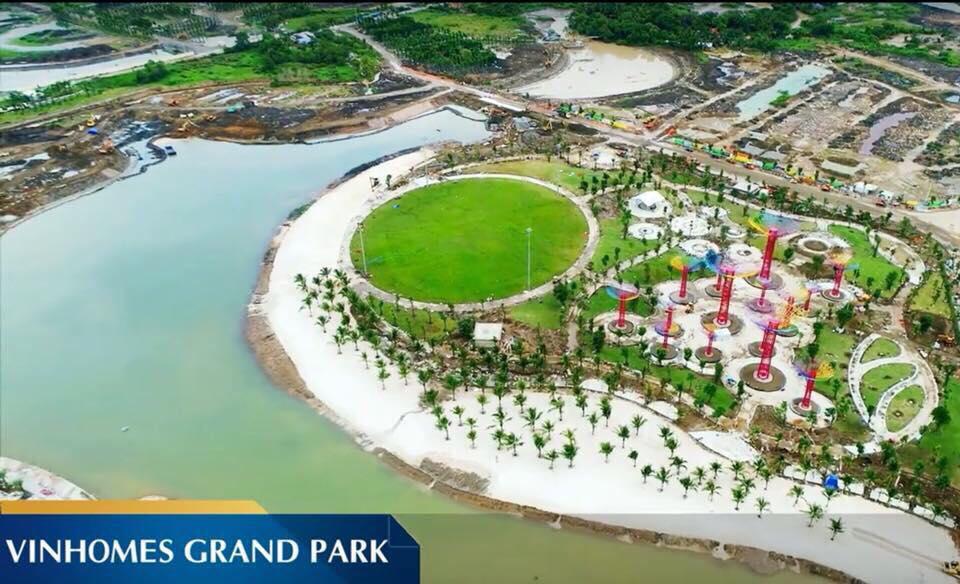 CÔNG VIÊN GRAND FOREST TẠI VINHOMES GRAND PARK QUẬN 9