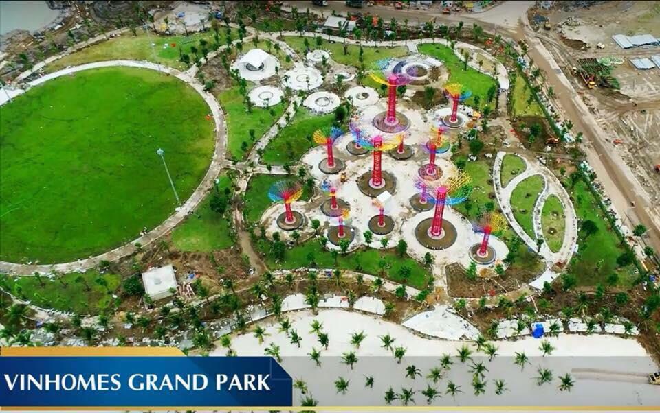 Tiến độ Công viên Vinhomes Grand Park Quận 9