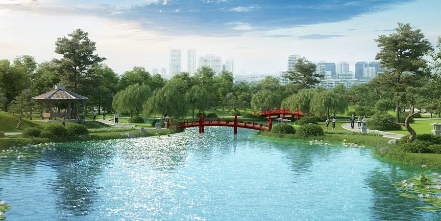Vườn Nhật tại Vinhomes Grand Park Quận 9