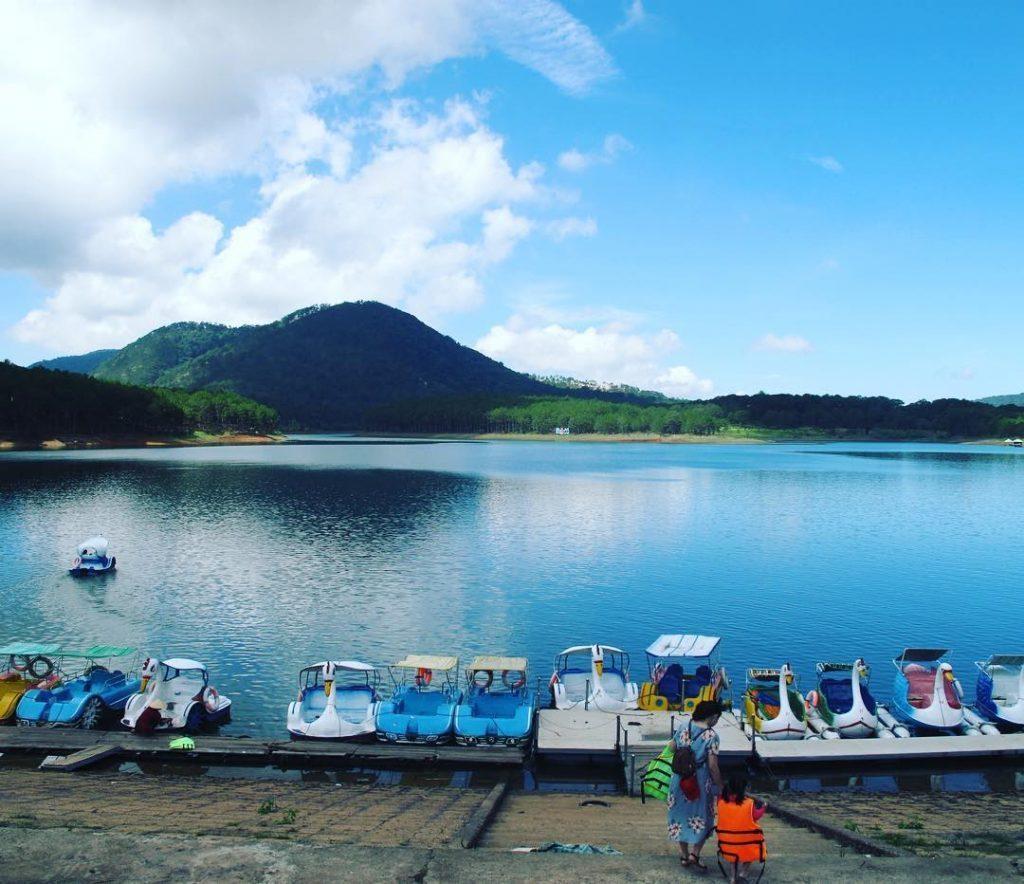 Vị trí Vinpearl Đà Lạt tại Hồ Tuyền Lâm
