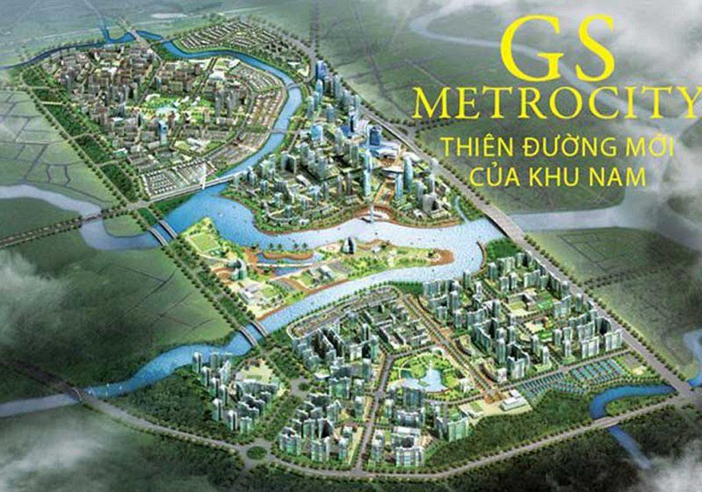 Tổng thể Dự án Gs Metrocity Nhà Bè