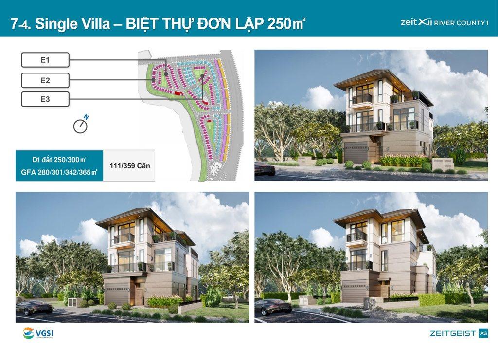 Mặt bằng và thiết kế Biệt thự đơn lập Gs Metrocity Nhà Bè