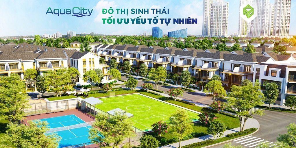 Phối cảnh Nhà phố, Biệt thự tại Aqua City Novaland Đồng Nai