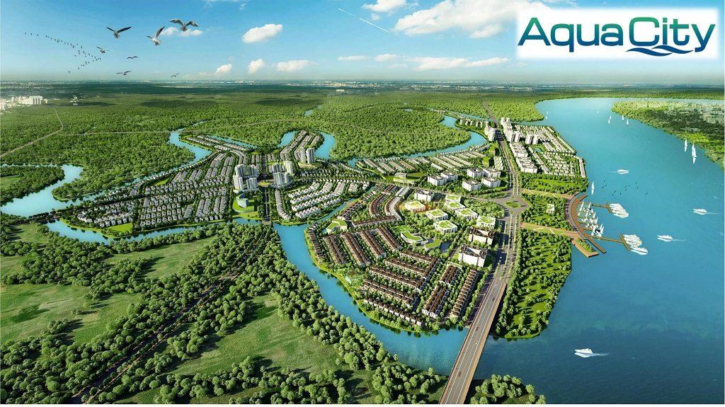 Tổng thể Aqua City Novaland Đồng Nai