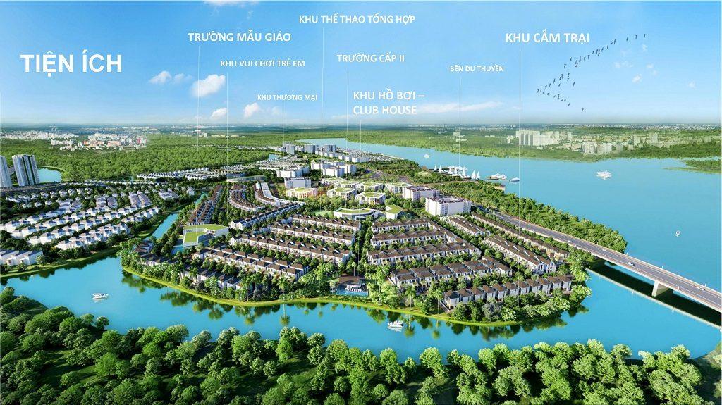 Tiện ích tại Dự án Aqua City Novaland Đồng Nai