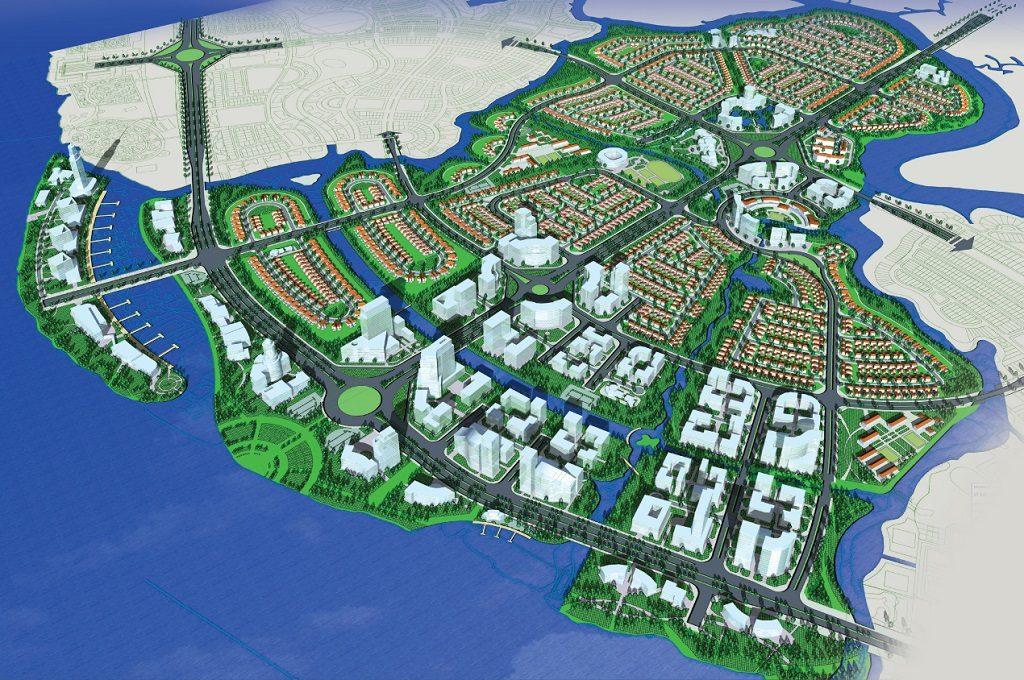 Mặt bằng tổng thể Aqua City Novaland Đồng Nai