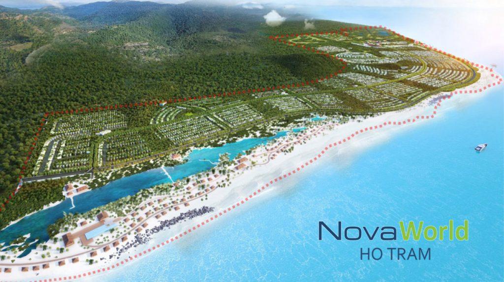Mặt bằng tổng thể NovaWorld Hồ Tràm