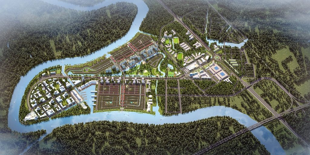 Tổng thể Dự án Waterpoint Nam Long