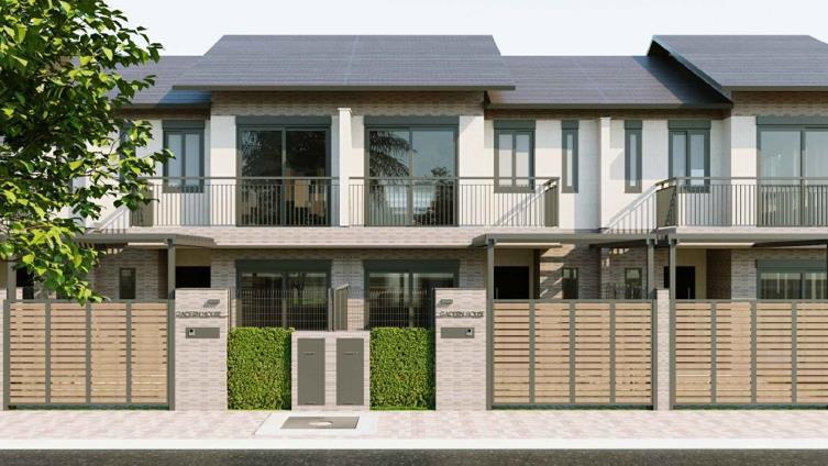 Thiết kế Nhà phố vườn Waterpoint Nam Long