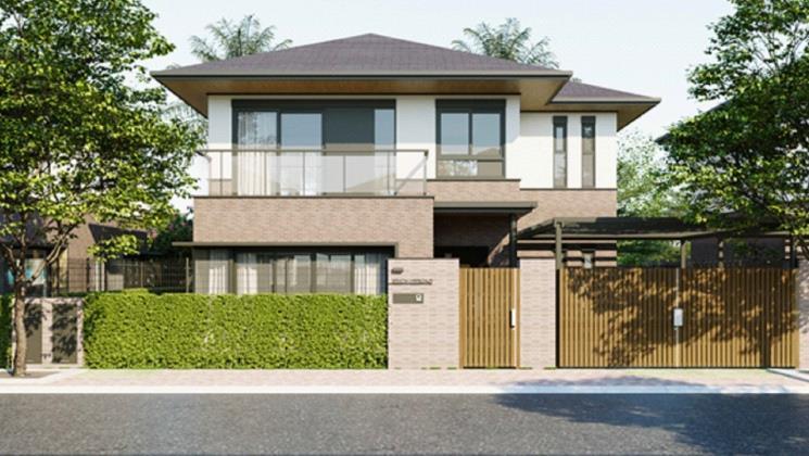 Thiết kế Biệt thự đơn lập Waterpoint Nam Long