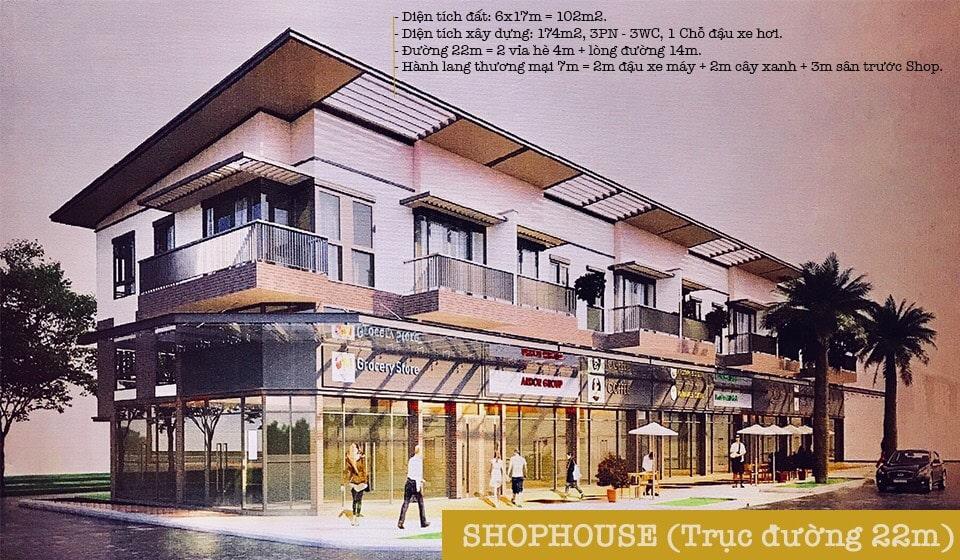 Thiết kế Nhà phố thương mại Waterpoint Nam Long