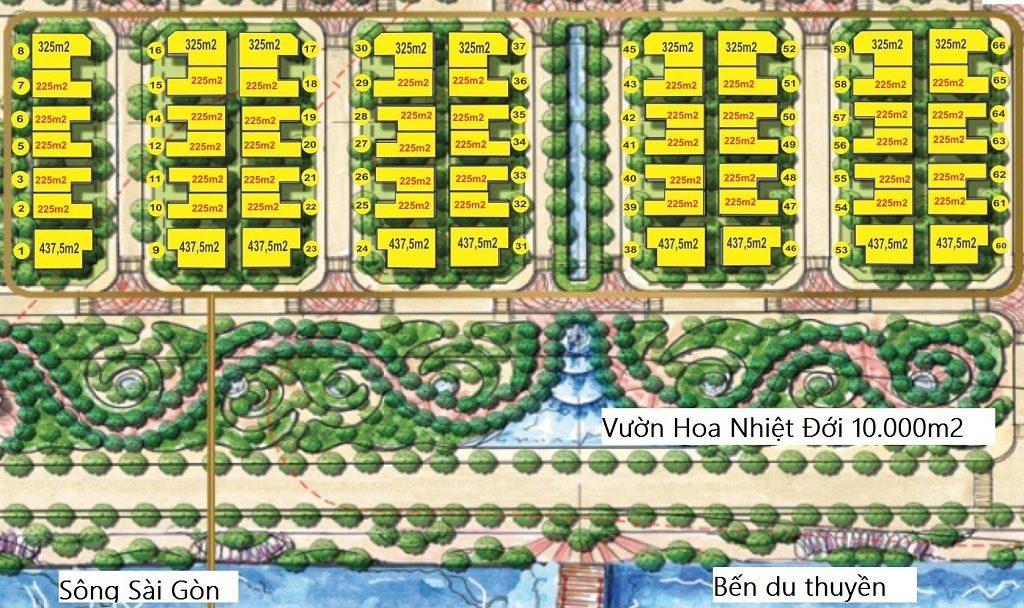 Hệ thống tiện ích tại Biệt Thự Vinhomes Golden River Ba Son