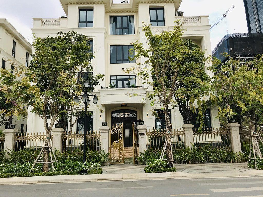 Hình ảnh thực tế Biệt Thự Vinhomes Golden River Ba Son