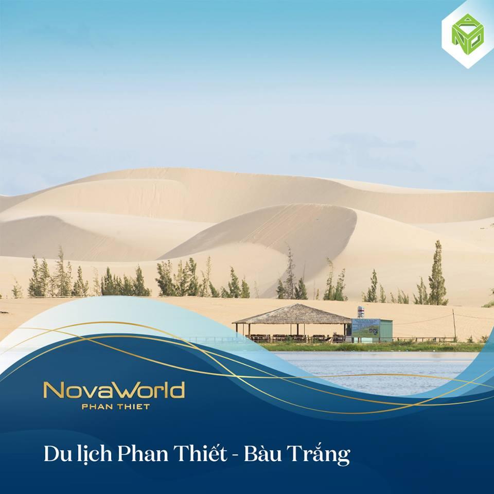 Mặt bằng tổng thể Novaworld Bàu Trắng