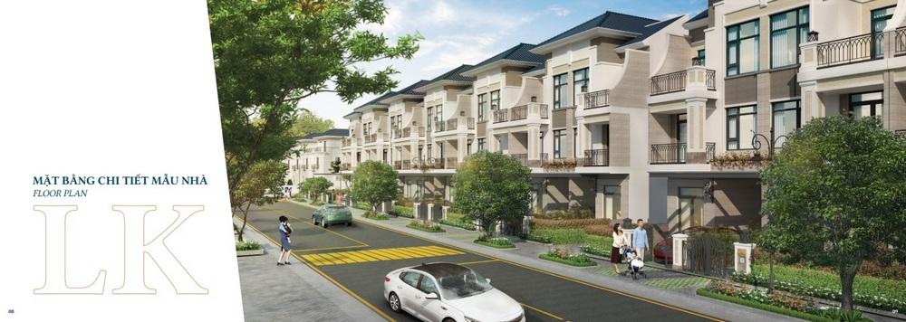 Thiết kế Nhà phố Verosa Park Khang Điền