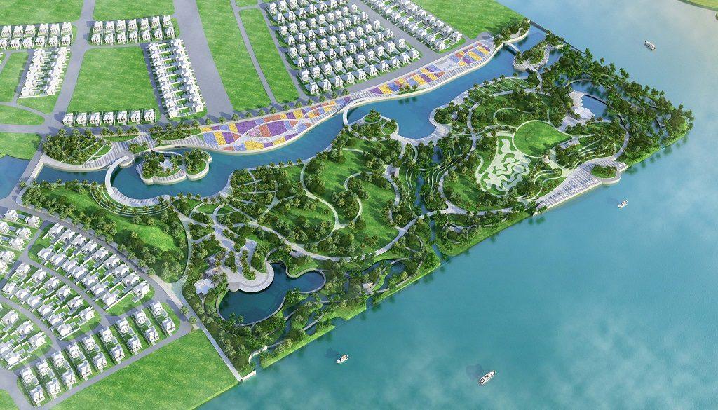 Tổng thể Dự án Palm Marina Novaland