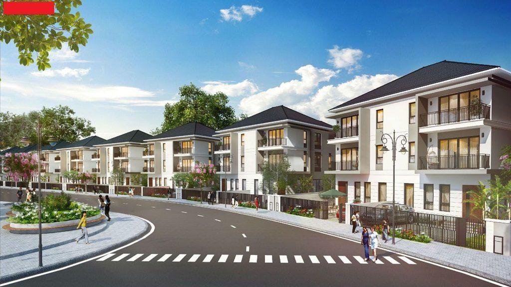 Thiết kế Biệt thự song lập Palm Marina Novaland