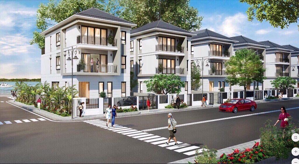 Thiết kế Biệt thự đơn lập Palm Marina Novaland
