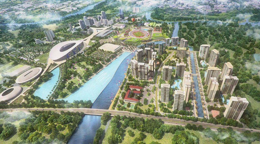 SAIGON SPORTS CITY KEPPEL LAND QUẬN 2 : MẶT BẰNG – GIÁ BÁN