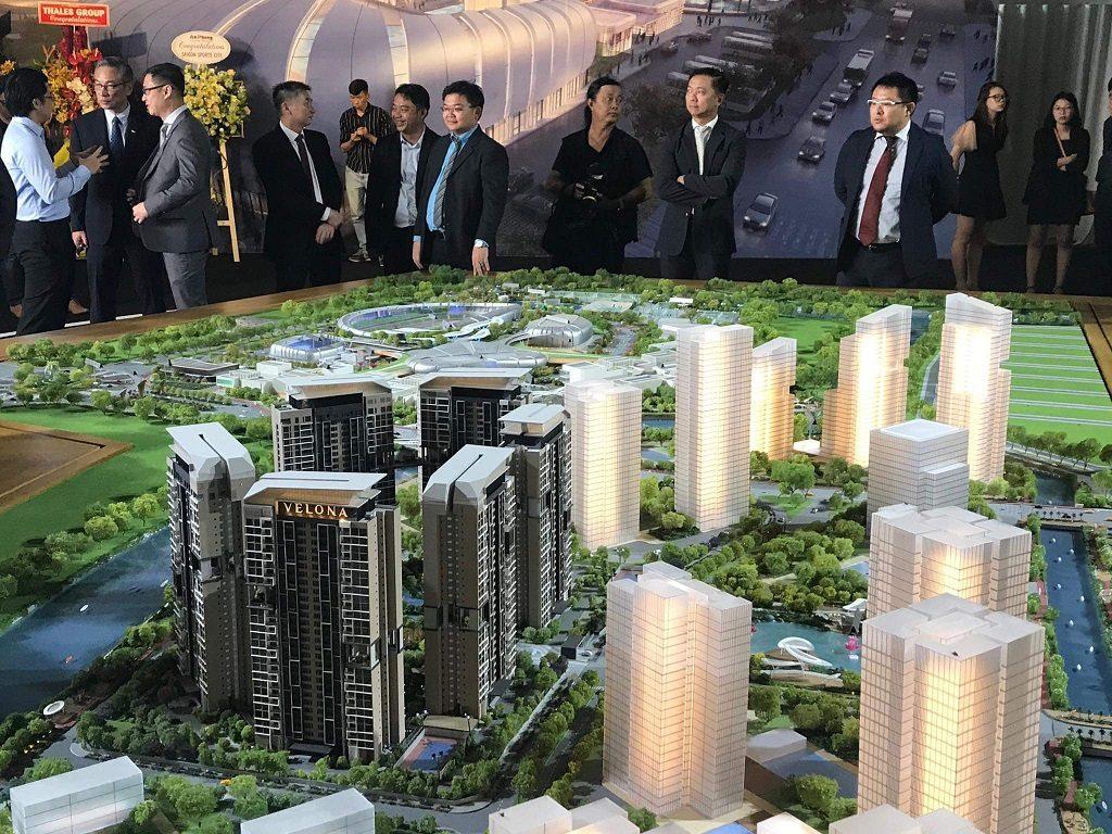 Thiết kế SaiGon Sports City Quận 2 tại Sa Bàn Dự án