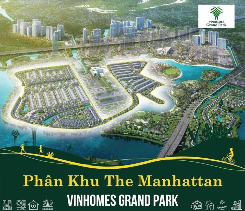 Tổng thể The Manhattan Vinhomes Grand Park Quận 9