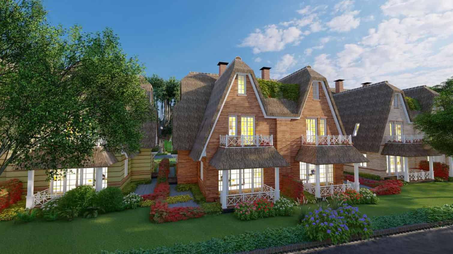 Update thông tin biệt thự làng Hà Lan Ecopark bảng giá 2021