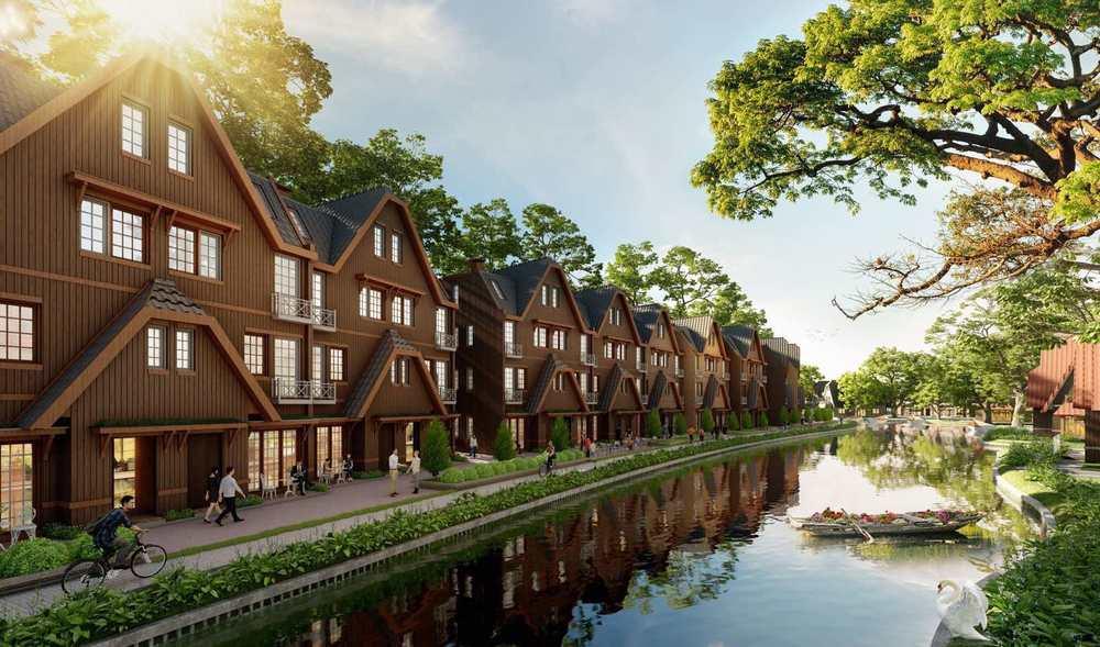 Thông tin biệt thự làng Hà Lan Ecopark vượng khí – nơi an cư lý tưởng