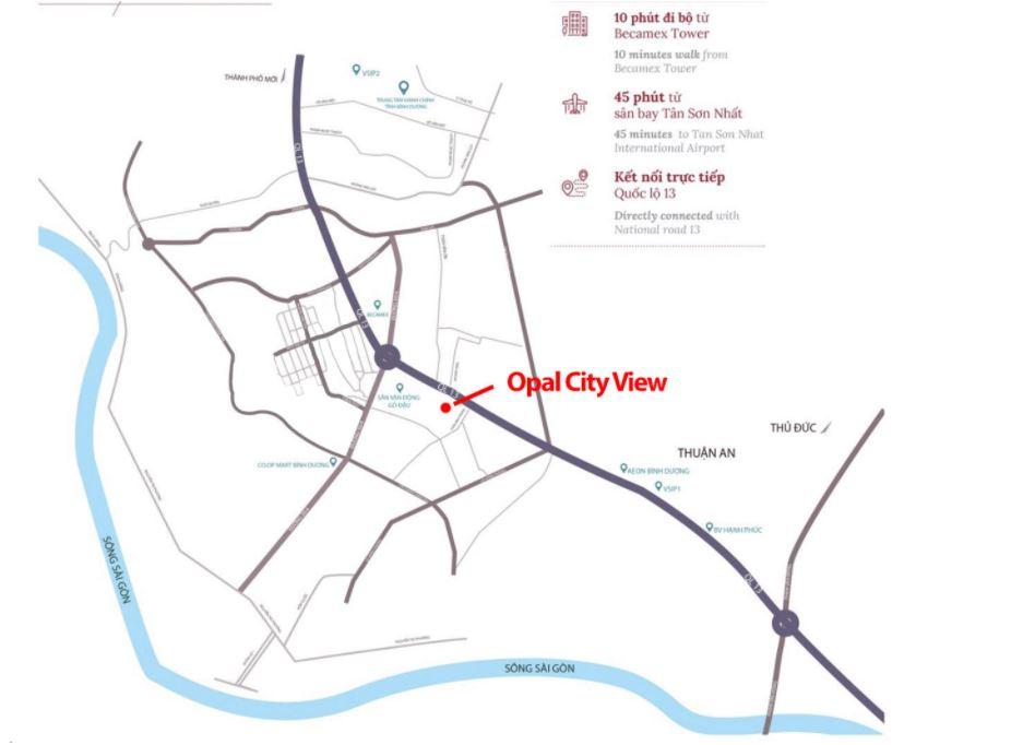 [ Review ] dự án Opal City View Bình Dương(bảng giá mới nhất)
