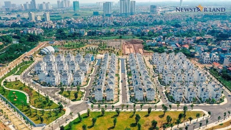 Thông tin biệt thự Vinhomes Green Villas Đại Mỗ Từ Liêm 2021