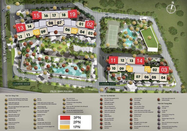 Update dự án Masteri Lumiere Riverside, An Phú, Quận 2, HCM