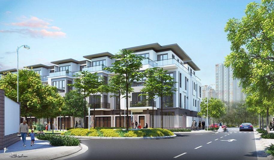 Dự án bán biệt thự và liền kề Hà Đô Charm Villas An Khánh