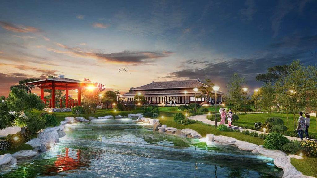 Chuỗi vườn Nhật lớn nhất Việt Nam sẽ có mặt tại Swan Park Onsen