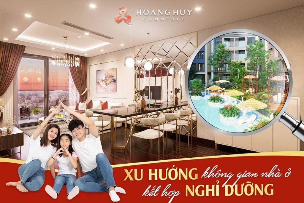 Để sở hữu căn hộ cao cấp Hoàng Huy commerce mức giá mua bán sản phẩm không hề đắt đỏ