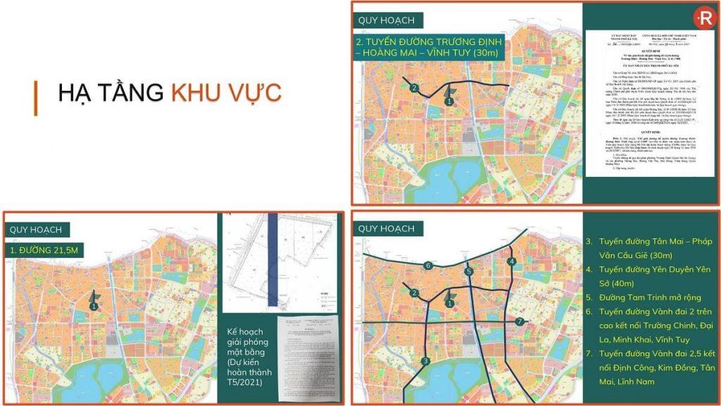 Louis City hưởng trọn bộ chính sách đầu tư quy hoạch của toàn Quận Hoàng Mai
